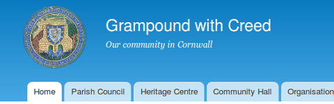 Grampound with Creed website